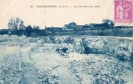 CHAMPCUEIL LES CARRIERES DE PAVES - France