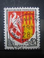 FRANCE    N° 1353A - OBLITERATION RONDE - Frankreich