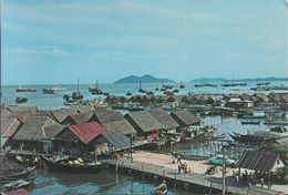 Malaysia - Penang - Sea Side Village Of The Fisher Folks - Cars - 2x Nice Stamp - Malaysia