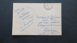 CPA De Treves En Franchise Poste Aux Armées 22 Occupation Fr. En Allemagne 1924 Cachet Des Douanes District De Treves - Marcofilie (Brieven)