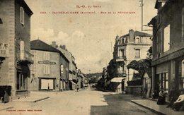 CAPDENAC GARE - RUE DE LA REPUBLIQUE - France