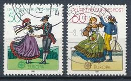 BRD Mi. 1096 - 1097 Gest. Europa Folklore Tanzpaar - Tanz