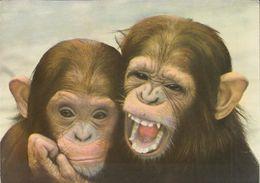 Malaysia - Penang - Monkeys At Waterfall Gardens - 2x Nice Stamp - Malaysia