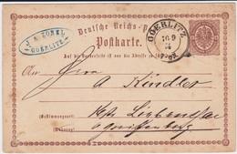 Preußen Nv K2 Görlitz Schlesien Gzs DR P 1 Spät 1874 - Preussen