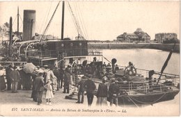 FR35 SAINT MALO - LL 157 - Arrivée Du Southamyon Le VERA - Animée - Belle - Saint Malo