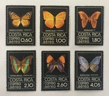 Costa Rica 1979; Animals & Fauna, Insects, Butterflies; MNH / ** VF; Scarce Set!! CV 70 Euro!! - Butterflies