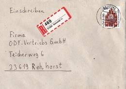 ! 4 Einschreiben, 1994, 1996 3 X Selbstklebende R-Zettel Aus Seevetal, Rosengarten, 21220, 21224, 21217 - BRD