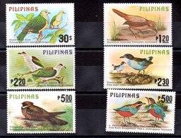 Serie De Filipinas N ºYvert 1110/15 ** PAJAROS (BIRDS) VAlor Catálogo 14.0€ - Filipinas