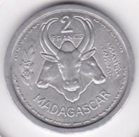 MADAGASCAR - UNION FRANCAISE. 2 FRANCS 1948. ALUMINIUM. SUP / XF - Madagascar