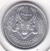 MADAGASCAR - UNION FRANCAISE. 1 FRANC 1948. ALUMINIUM. SUP / XF - Madagaskar