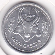 MADAGASCAR - UNION FRANCAISE. 1 FRANC 1948. ALUMINIUM. SUP / XF - Madagascar