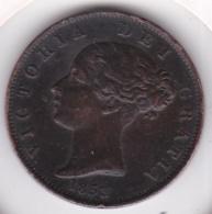 Grande-Bretagne. 1/2 Penny 1853. Victoria - 1816-1901: 19. Jh.