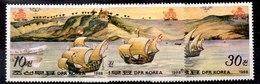 Serie De Corea De Norte N ºMichel 2902/04** BARCOS (SHIPS) - Corea Del Norte