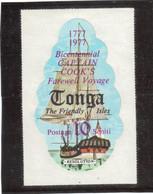 B4 - Tonga PO 397 ** MNH De 1977 - H.M.S. RESOLUTION De James COOK - - Tonga (1970-...)