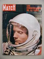 Paris Match N° 1054 19 Juillet 1969 Conquérants De La Lune Apollo XI Lauzet SM Le Redoutable Merckx Maire à Peuplingues - General Issues