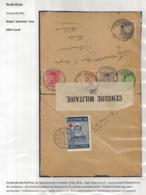 AANGETEKENDE BRIEFOMSLAG VAN LEGERPOSTERIJ NR.6-23.10.16 NAAR HULST 4.XI.16 SLUITVIGNET BELGES SOUVENEZ VOUS - Autres Lettres