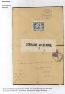 BRIEF VAN LEGERPOSTERIJ NR.4-17.VIII.1918 NAAR HULST 16.I.1918 -SLUITVIGNET TAVANNE 1916-DUBBELCENSUUR BELGIE,NEDERLAND - Autres Lettres