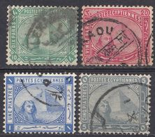 EGITTO - 1884 - Serie Completa Formata Da 4 Valori Usati: Yvert 32/35. - Egitto