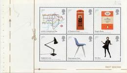 GREAT BRITAIN 2009 British Design Classics Prestige Booklet Pane 2888a - Booklets
