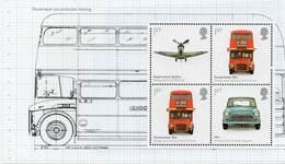 GREAT BRITAIN 2009 British Design Classics Prestige Booklet Pane 2887b - Markenheftchen