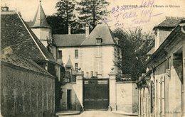 VIVIERES Aisne - Entrée Du Château Soldat écrit Au Garde Forestier à Le Luhier Doubs - Other Municipalities