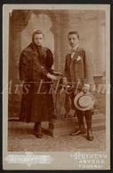 Cabinet Card / Photo De Cabinet / Kabinet Foto / Fille / Girl / Boy / Garçon / F. Stainier Hannet / Heist / 2 Scans - Anciennes (Av. 1900)