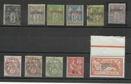 1900 Alexandrie, Lot De Timbres Neufs & Obl. 2nd Choix - Alexandrie (1899-1931)