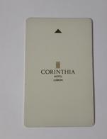 MALTA  HOTEL KEYCARD -  (  CORINTHIA HOTEL LISBON    ) - Hotelsleutels (kaarten)