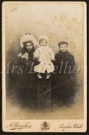 Cabinet Card / Photo De Cabinet / Kabinet Foto / Children / Enfants / A. Derijckere / Iseghem / Thielt / Izegem / Tielt - Foto's
