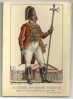 Types Et Costumes Brabançons Vers 1835 (Dessin De J. Thiriar) Série 4 N° 3 - Le Suisse Du Grand Théâtre - Personnages