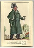 Types Et Costumes Brabançons Vers 1835 (Dessin De J. Thiriar) Série 4 N° 2 - Le Gardien Du Parc - Personnages
