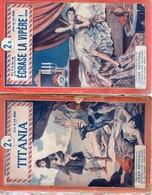 TITANIA, ECRASE LA VIPERE De JEAN DE LA HIRE (Une Aventure Du Nyctalope)Tallandier 1929. Voir Description Et Scans - 1901-1940