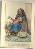 Types Et Costumes Brabançons Vers 1835 (Dessin De J. Thiriar) Série 4 N° 1 - La Marchande De Drapelets - Personnages