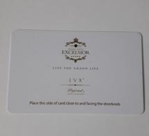 HOTEL KEYCARD -  (  EXELSIOR HOTEL     ) - Hotelsleutels (kaarten)