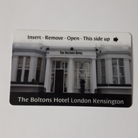 HOTEL KEYCARD -  (  THE BOLTONS HOTEL LONDON    ) - Hotel Keycards