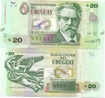 Uruguay - 20 Pesos 2015 2017 Serie G UNC Lemberg-Zp - Uruguay
