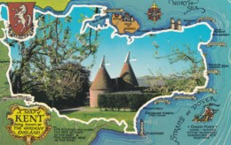 KENT MAP CARD - England