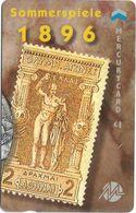 UK (Mercury) - Olympics - Athens 1896 (Puzzle 2/2) - 49MERTWOA - MEO027 - 1.044ex, Used - Reino Unido