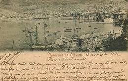 Souvenir De Cavalla - Gruss Kavala - Greece Grèce - 1901 - TP + Cachet + Oblitérations !! - Grèce