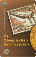 UK (Mercury) - Olympics - Berlin 1936 (Puzzle 1/2) - 49MERTWOA - MEO016 - 1.044ex, Used - Reino Unido