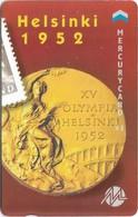 UK (Mercury) - Olympics - Helsinki 1952 (Puzzle 1/2) - 20MERB - MEO010 - 1.044ex, Used - Reino Unido