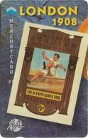 UK (Mercury) - Olympics - London 1908 (Puzzle 1/2) - 49MERTWOA - MEO028 - 1.044ex, Used - Reino Unido