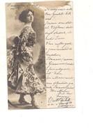 P157 Illustratori Tematica Donnine Fotografica Npg 1905 VIAGGIATA - Fotografia