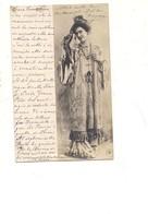 P158 Illustratori Tematica Donnine Fotografica Npg 1905 VIAGGIATA - Fotografia