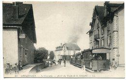 CPA 1917 * GERARDMER La Croisette Arrêt Du Train De La Schlucht ( Beau Plan Animée ) - Gerardmer