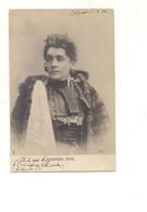P159 Personaggi ELEONORA DUSE Fotografica AL 1906 VIAGGIATA - Donne Celebri