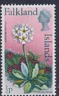 Falkland Islands, Scott # 210B MNH Dusty Miller Flower , 1975 - Falkland Islands