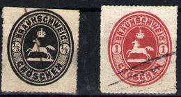 Alemania Nº 12/13. Año 1865 - Brunswick