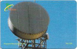 Bhutan - BMobile - Telecommunications Equipment #2 - GSM Refill 100Nu, Used - Bhutan