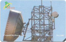Bhutan - BMobile - Telecommunications Equipment #3 - GSM Refill 100Nu, Used - Bhutan